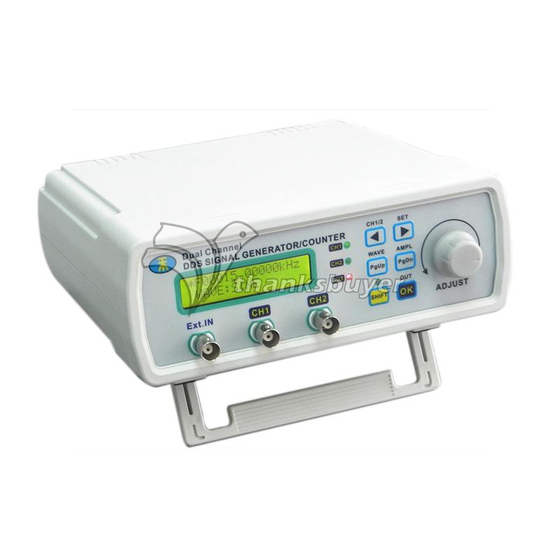 MHS-5200A 20MHz Dual Channel DDS Function Signal Generator Frequency Signal Source Meter free shipping mhs 3206a dual channel nc function dds signal generator counter dds signal source frequency meter 6mhz