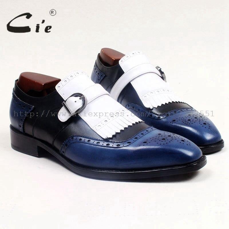 e2e69f64d492b Cie bout carré médaillon 100% véritable En Cuir respirant casual mocassins  semelle en cuir de couleurs mélangées hommes gland slip-sur loafer96