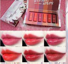 BEAUTY GLAZED 6pcs/Set Liquid Lipstick Lip Gloss Professional Makeup Matte Kit Long Lasting Cosmetics Maquiagem