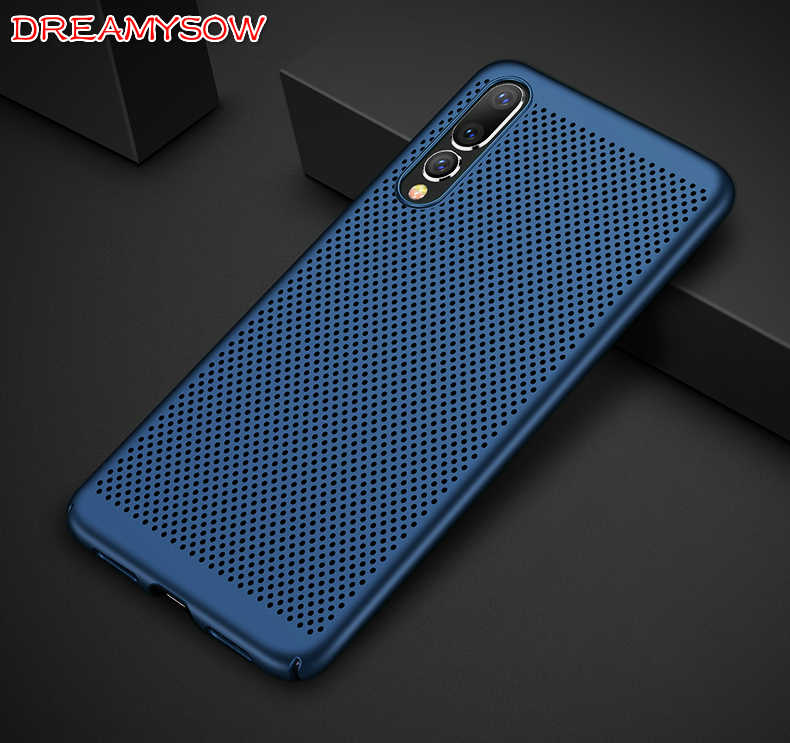 Breathable Heat Dissipation Matte Case For Huawei P20 Pro Nova 3E Honor 8 9 Lite 6X 7X Mate10 lite Plus P10 P8 P9 Lite mini