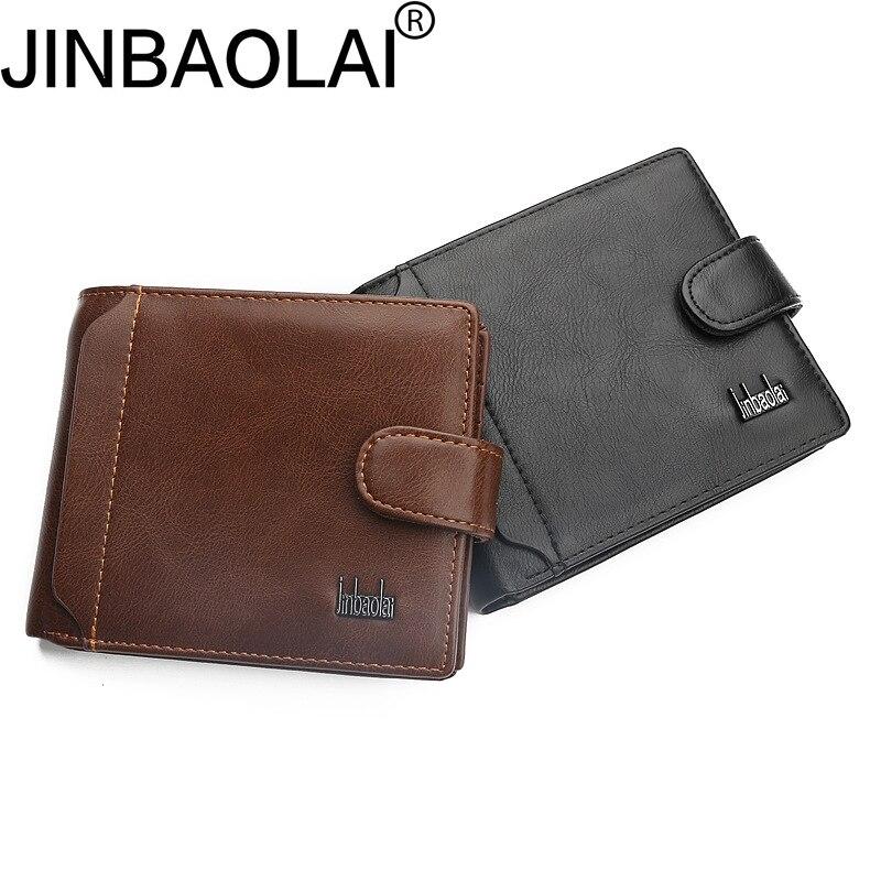 Vintage Fashion Men Wallet Male Purse Coin Pocket Short Perse Small Walet For Cuzdan Mini Vallet Money Bag Card Holder Klachi