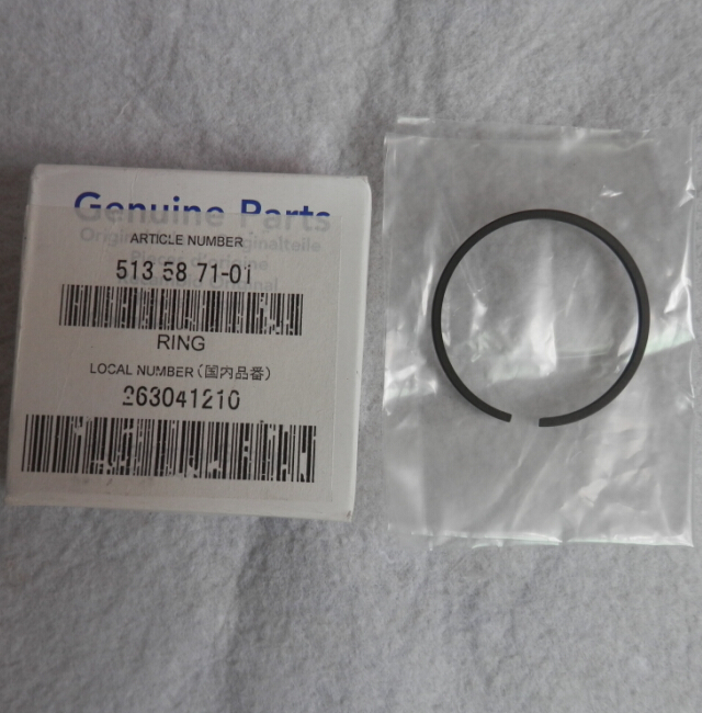 GENUINE PISTON RING 36MM FOR ZENOAH G3000 G3000T CHAINSAW  FREE SHIPPING   CHAIN SAW RING SET PARTS  OEM  P/N  513 58 71-01 straight row 29cc piston for high speed 29cc gasoline engine zenoah parts rc boat