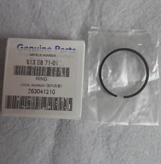 GENUINE PISTON RING 36MM FOR ZENOAH G3000 G3000T CHAINSAW  FREE SHIPPING   CHAIN SAW RING SET PARTS  OEM  P/N  513 58 71-01 6pcs 38mm x 1 5mm piston ring kit for husqvarna 36 136 137 chainsaw