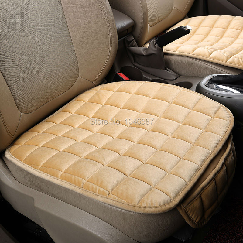 Warm Car Seat Cushion Luxurious Driver Seat Cover Car