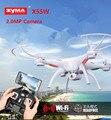 SYMA X5SW WI-FI RC fpv Zangão Headless 2.4G 6-Axis Quadcopter com Câmera Em Tempo Real Helicóptero DO RC Quad copter Brinquedos