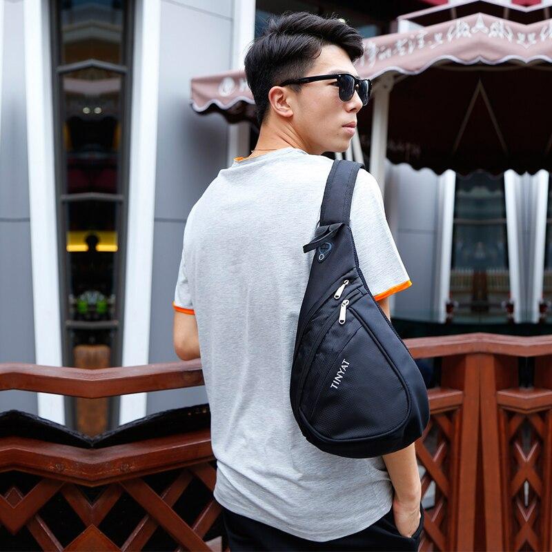 fresco bolsa ocasional peito pacote Estilo : Youth Sports Casual Chest Bag