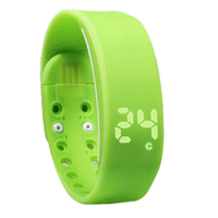 JHO Light Weight Tracker Intelligent Pedometer Bracelet Smart Activity Wristband Motion Record Monitor For Computer