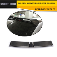 Car-Styling Carbon Auto Trunk Rear Spoiler Wing for Audi A1 8X Hatchback 2010-2014