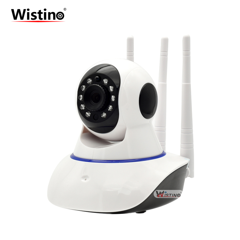 Wistino CCTV 720P Wifi IP Camera Indoor Wireless Surveillance Camera Wi-fi PTZ Baby Monitor Smart Home Security Camera Alarm P2P annke mini hd 720p smart wireless pt security camera 1 0mp indoor ip camera wifi baby monitor 720p cctv surveillance camera
