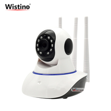 Wistino CCTV 720P Wifi IP Camera Indoor Wireless Surveillance Camera Wi-fi PTZ Baby Monitor Smart Home Security Camera Alarm P2P все цены
