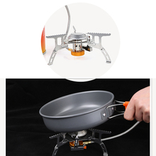 Wholesale Foldable safety Camping Gas Stove Outdoor Cooking Foldable Split Burner 260182