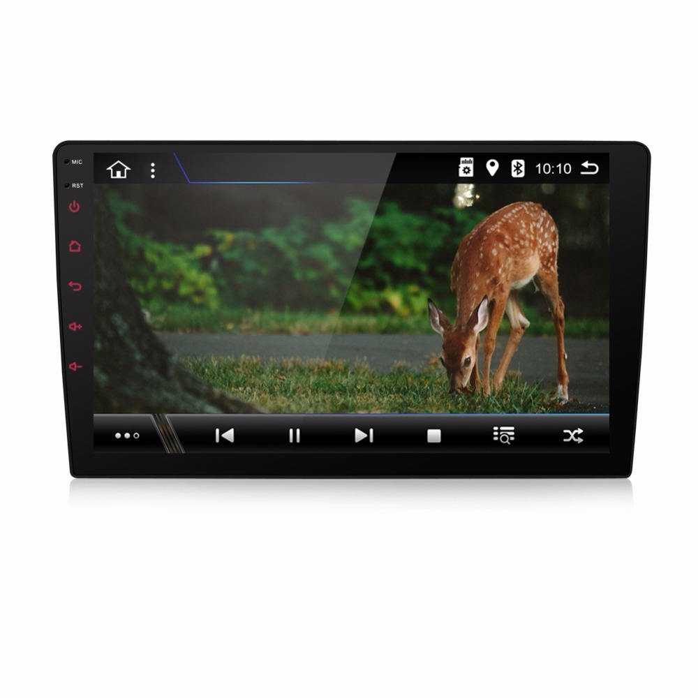 KLYDE 9 1 Din Android 8.1 8 Core universal Big Screen NO DVD Car Radio Audio 1024*600 Stereo Multimedia Player