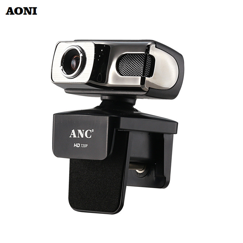 Aoni webcam desktop camera 720p high definition web cam for Camera tv web