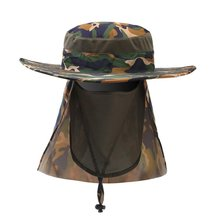 954ad1d3974d34 Face Neck UV Protection Fishing Caps Mesh Breathable Quick Dry Fishing  Boating Hiking Hat Visor Anti Multifunction Sun Hats