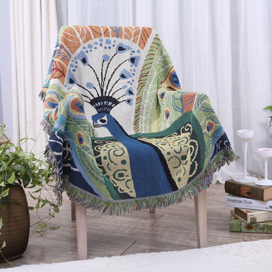 Peacock Sofa Removable Covers Couch Sofa Covers For Living