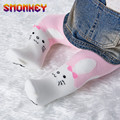 cute Cotton Knitting Baby Girls Tights cotton Cartoon Rabbit Baby Tights For Girls Spring autumn Style Soft Children Gifts 6M-2T
