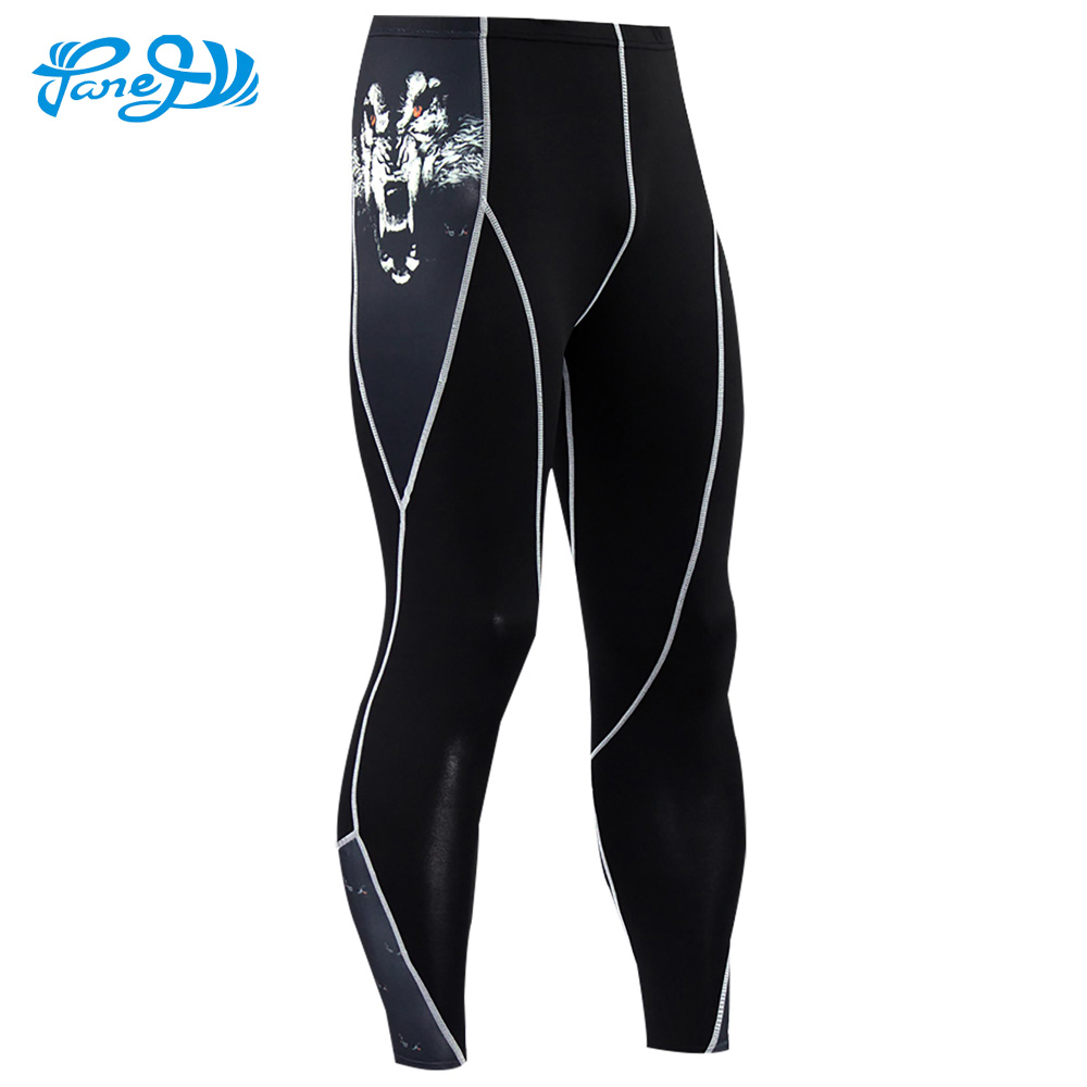 Panegy Mens Compression Running Pants Cool Quick Dry Skinny Sports Leggings Fitness MMA Bodybuilding Gym Cycling Trousers 3XL