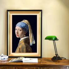 Netherlands Jan Girl with A Pearl Earring Oil Painting Poster Prints Wall Art Canvas Pictures For Living Room Home Decor