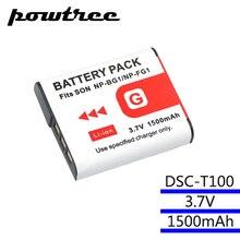 3.7V 1500mAh  batteries For SONY DSC-T100 DSC-T20 DSC-W300 DSC-W200 W100 W50 W35, DSC-H3 H5 H10 H20 HX5V DSC-WX1 DSC-N1