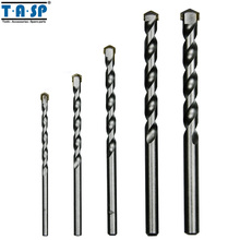 TASP 5 Pieces Masonry Drill Bits Set for Concrete with Tungsten Carbide Tip Power Tool Accessories