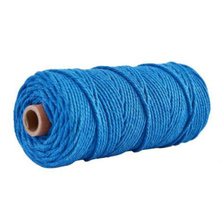 3mm Natural Cotton String Twisted Cord 12 Colors Rope Craft Macrame Artisan Roll