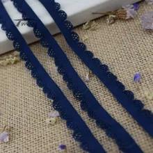 c997101f5e054 #1385 bandes élastiques de couleur bleu foncé bande de caoutchouc pour  pantalon sous-vêtements