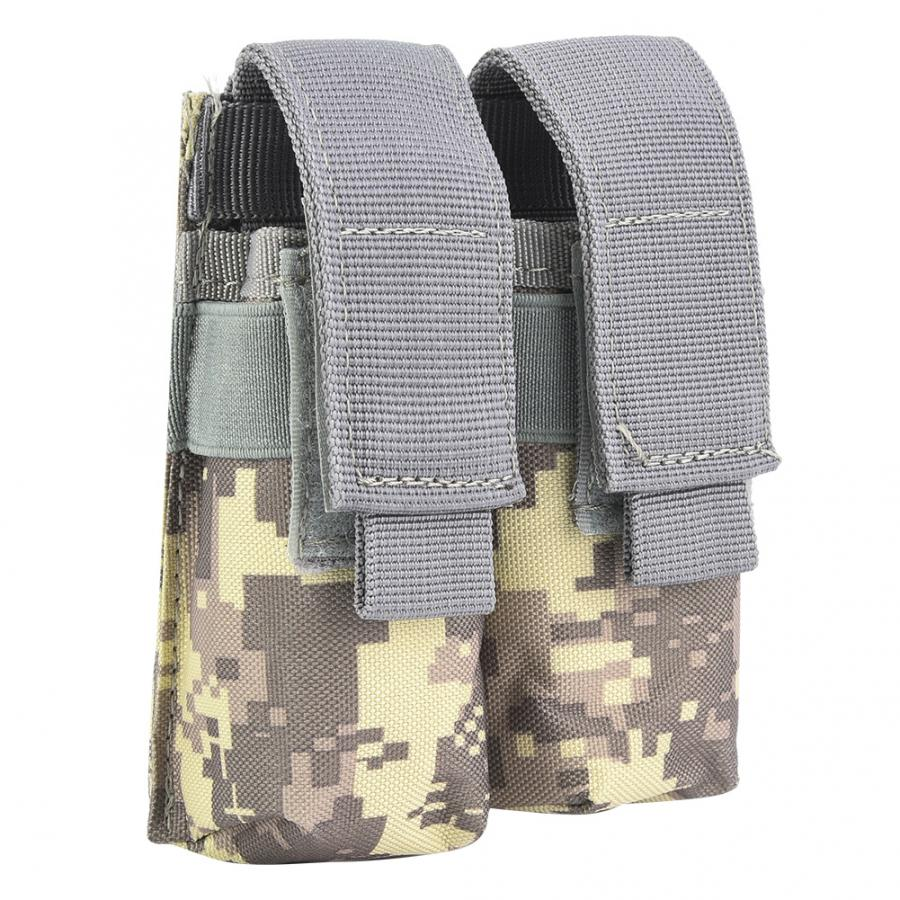 Bullet Bag Outdoor Tactic Portable Military Accessory Nylon Pack Dual Bullet Pouch Magazine Bag Hunting Accessory(China)
