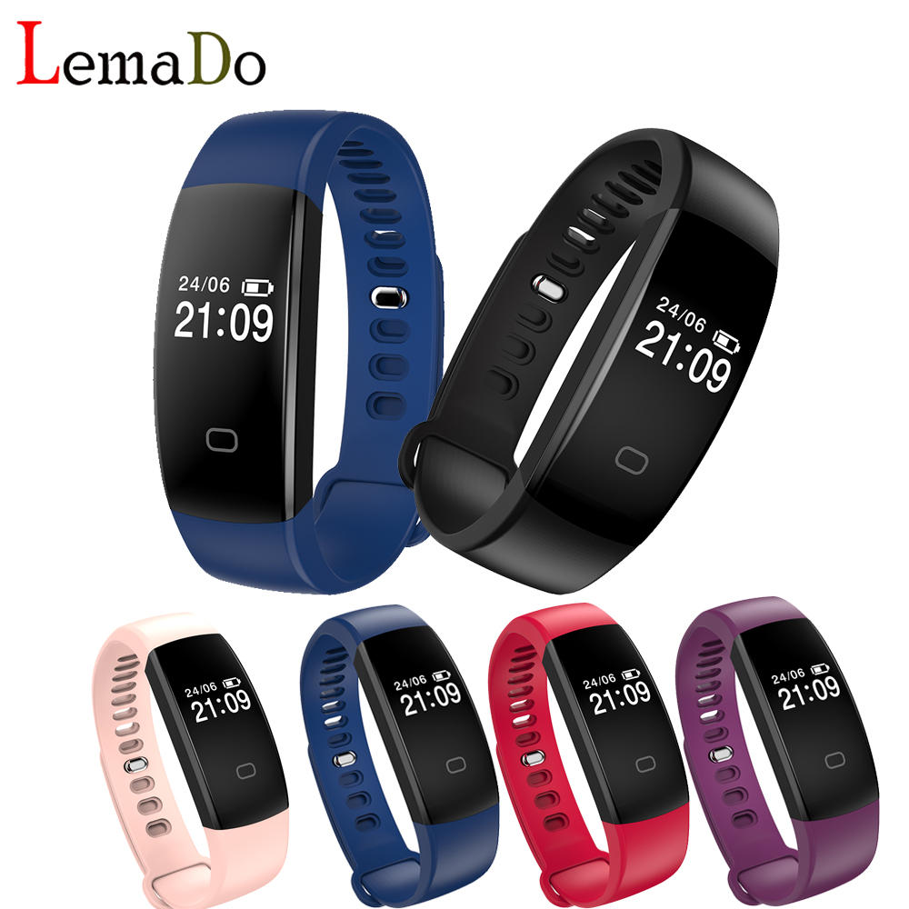 F08hr Smart Bracelet Heart Rate Bluetooth 4 0 fitness bracelet Pedometer Calorie Activity Wristband Smart Band
