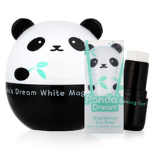 Coreia do Sonho do Panda Branco Creme Magia 50g + Brightening Eye Base 9g Rosto Cuidados Creme Facial Creme Whitening Brightening Eye creme(China (Mainland))