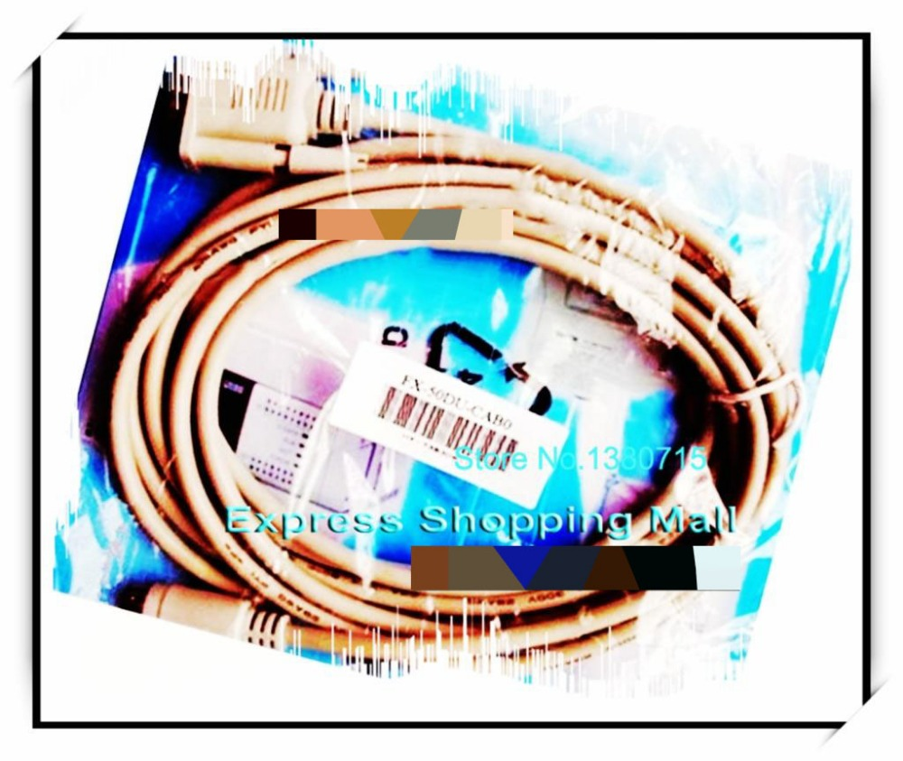 New Original FX-50DU-CAB0-10M PLC Connector Cable 10M honest and fx series plc cable a900 touch screen fx9gt cab0