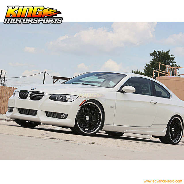 c27a9e64510 Online Shop Fit For 07 08 09 10 BMW E92 335i 328i Coupe 2DR PU Front Bumper  Lip Bodykit ACS Style New Global Free Shipping Worldwide