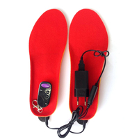 Electric Heating Warmer Insoles Winter Free Shipping Super Warm Boots Remote Control For Shoes Woman Shoes