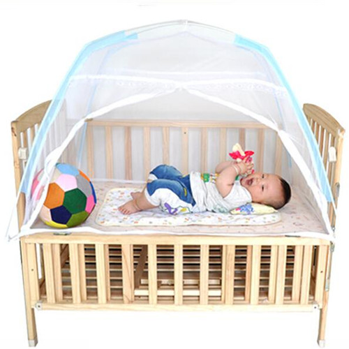 infants baby bed crib folding mosquito net portable baby bed crib mosquito net protetor. Black Bedroom Furniture Sets. Home Design Ideas