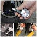 Portable del coche SUV neumáticos presión herramienta de prueba accesorios neumáticos manómetro mecánico