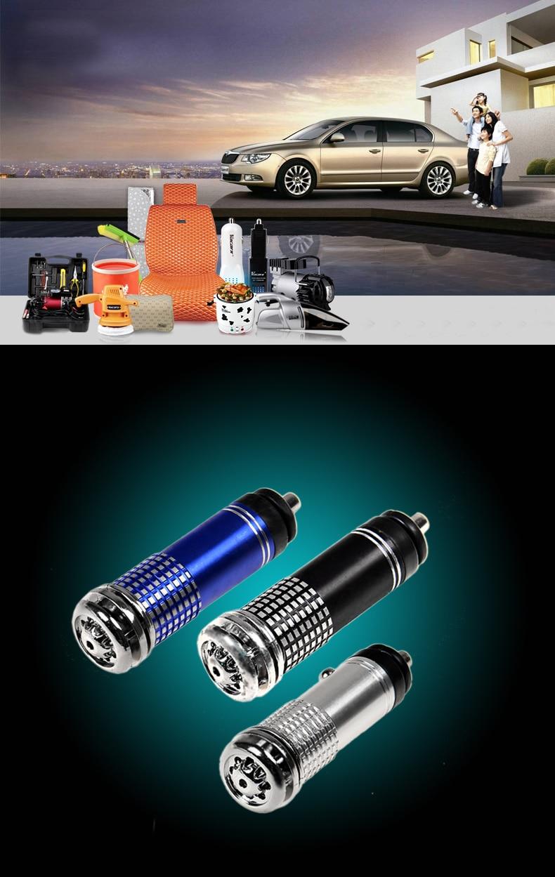 Eworld Car Styling 12V Auto Car Fresh Air Purifier Oxygen Bar Ionizer Newest Air Ozonator Ionizator  Air Freshener For Car ,Home