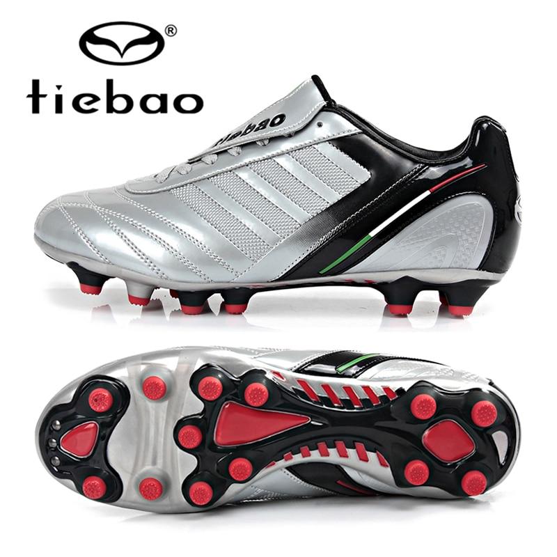 Tiebao profissionais sapatilhas botas solas de alta qualidade ag chuteiras  de futebol de futebol athletic sapatos chuteira futebol treinamento  esportivo em ... 4657f67613025