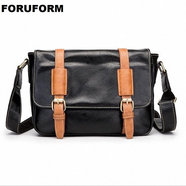 10230f254ab0 2018 New Arrival Fashion Casual Leather Men Messenger Bags Promotional  Small Crossbody Shoulder Bag Casual Man Bag LI 2177-in Crossbody Bags from  ...