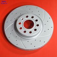 Front brake disc For Bora Polo Tigua Passat MAGOTAN Sagitar golf CC VOL RDA8285 1113