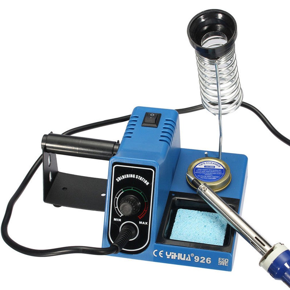 Buy 220v 60w Digital Soldering Welding Iron Station Wiring For Welder Tip Wire Adjustable Electric Yihua 926 Sale From Reliable