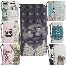 Squirrel Phone Bag Case For Asus ZC520TL Unicorn PU Leather Book Case sFor Portable Asus ajax Zenfone 3 MAX ZC520TL Shell(China)