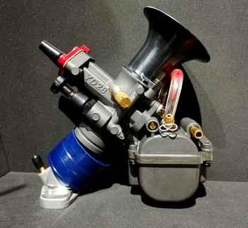ZSDTRP YD28/30 Motorcycle Carburetor Yoshimura YD-MJN28/30 Dual Stack Carburetor Power Up Kit For Honda Monkey ATV Quad Go Kart - DISCOUNT ITEM  37 OFF Automobiles & Motorcycles