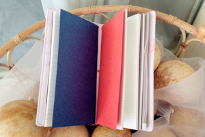 "Image 4 - ""Mermaid Traveler Notebook"" Shining Spangles Cover 일기 저널 교체 가능한 논문 Girls Stationery Gift"