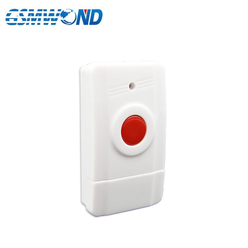 Hot Selling Panic SOS  Button, 433MHz One Key Alarm Wireless Alarm For Home Burglar Alarm System,