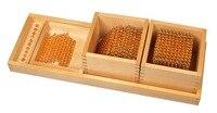 Развивающие игрушки для детского сада Монтессори раннего обучения устройства серии десятичной Математическая головоломка демо игры бусин