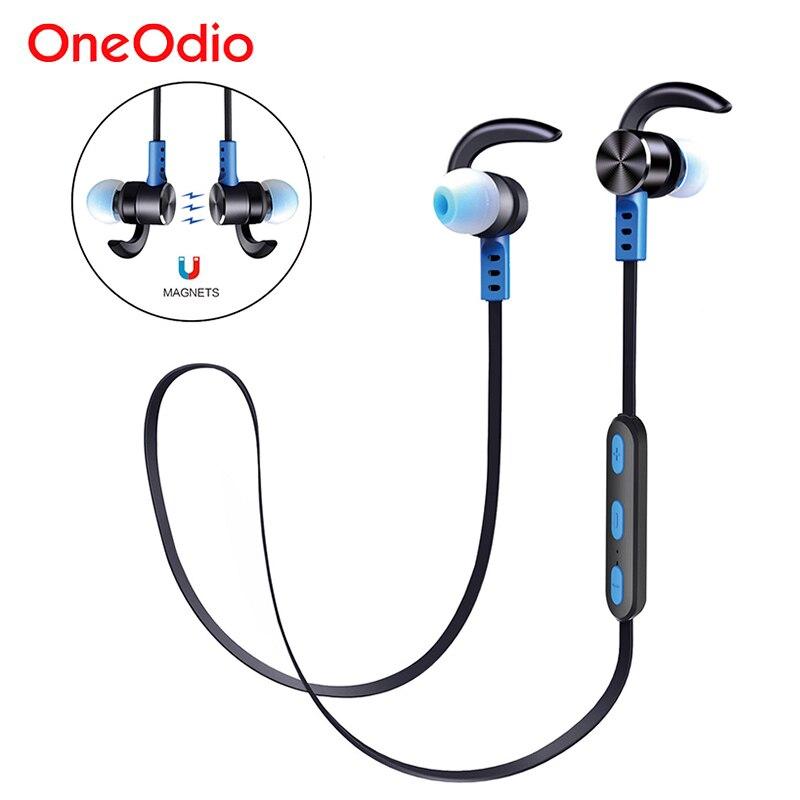 Oneodio Bluetooth Earphone Sport Handsfree IPX5 Waterproof Wireless Headset Stereo Mini In Ear Bluetooth Earbuds With Microphone bluetooth mini earphone stereo sport in ear handsfree bluetooth earphone with mic earbuds bluetooth 4 1 headset for smartphone
