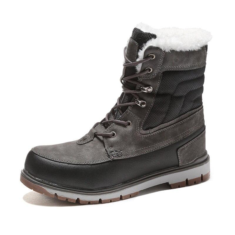Grande A b Boot Qualidade Fur Plush Tamanho À Neve Prova De D' Motocicleta Quente Ocasional Ankle 47 Botas Água 39 Dos Inverno Homens WvxB14UnE8