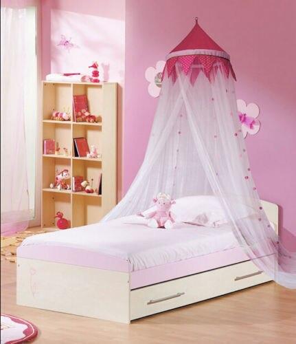 Letto A Baldacchino Rosa.Rosa Bella Principessa Ragazza Decorativo Biancheria Da Letto Cupola