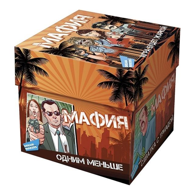 Игра детская настольная «Мафия» DREAM MAKERS