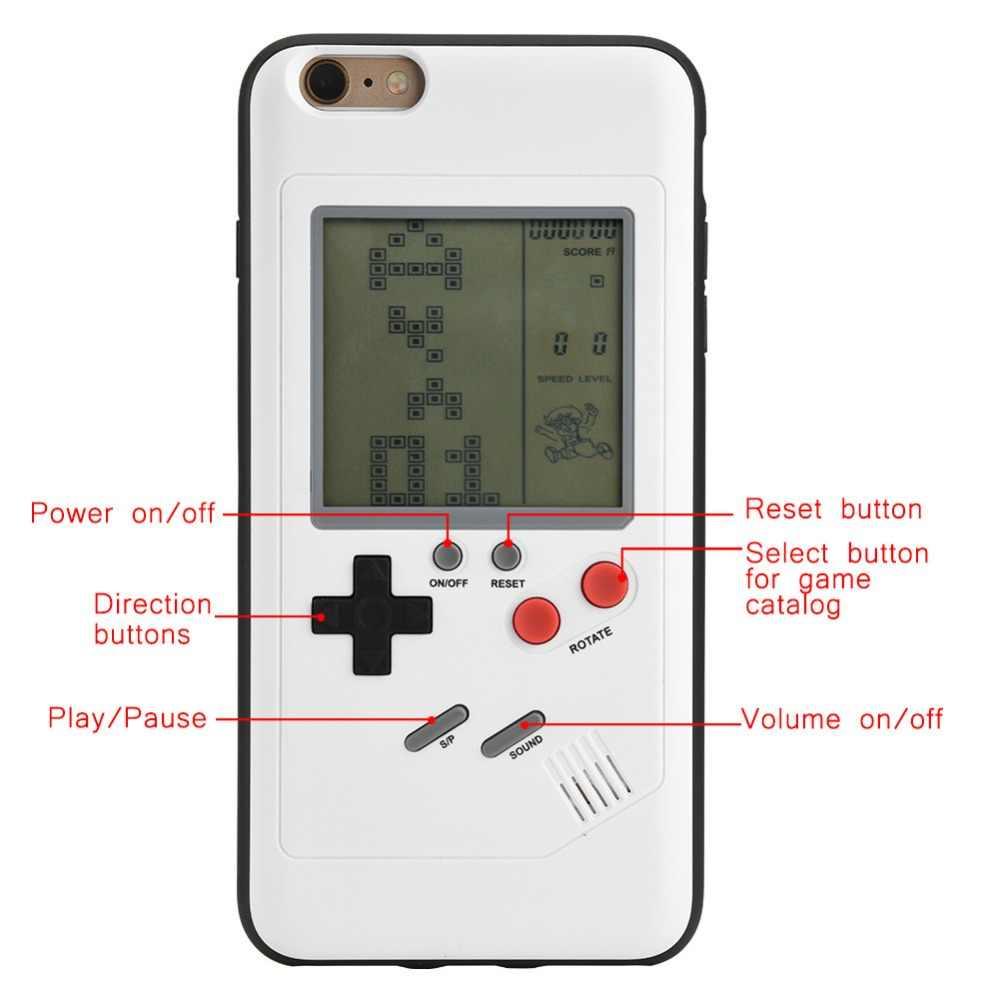 Для iPhone 6 6 S чехол для телефона Ретро Классический детство тетрис портативные игровые плееры lcd электронные игры игрушки игровая консоль