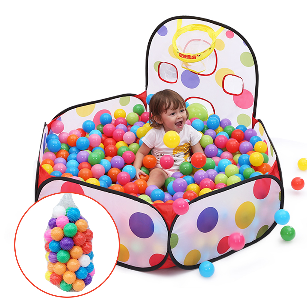 50Pcs/lot Eco-friendly Soft Plastic Ocean Wave Ball Colorful Ball Pit Pool Funny Baby Kid Swim Pit Children Colored Balls Toys